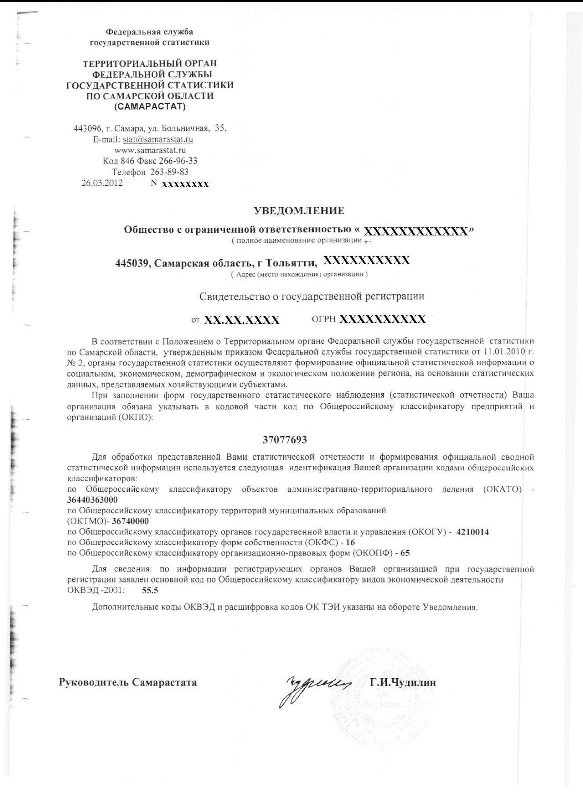 территориальные органы федеральной службы статистики